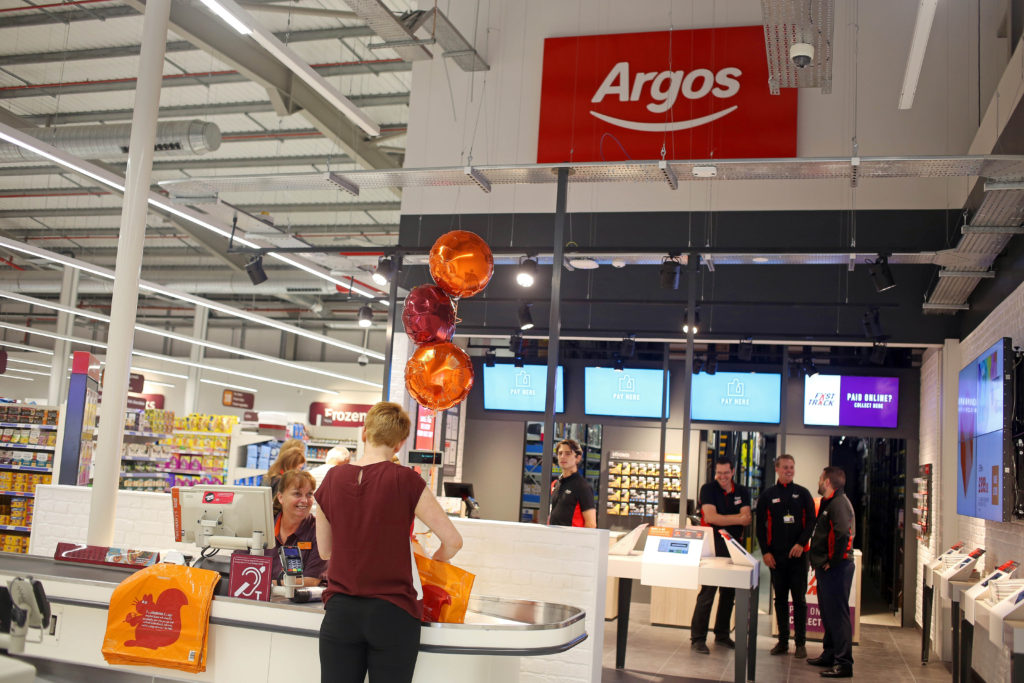 Sainsbury's launches Argos Click & Collect service in ...